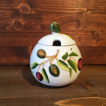 Olive Decoration Jar