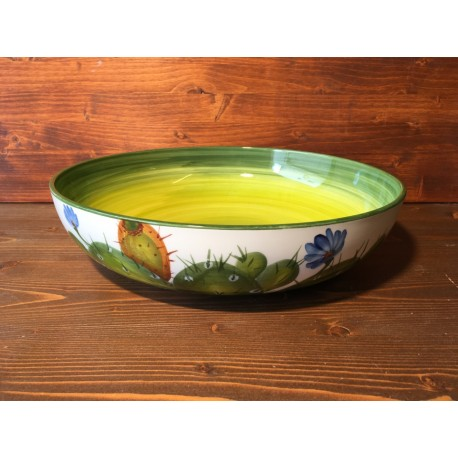 Low bowl Prickly pear - Green