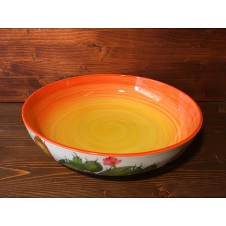 Low bowl Prickly pear - Orange