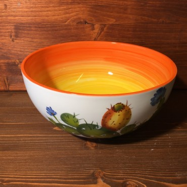 Schüssel Feigenkaktus - Orange