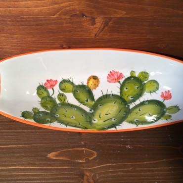Rectangular bowl Prickly pear - Orange