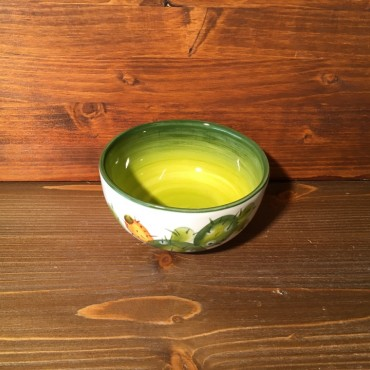 Small Bowl Prickly pear - Green