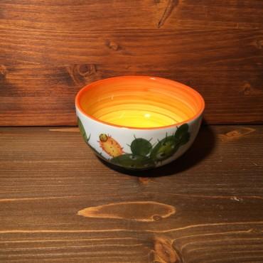 Kleine Schüssel Feigenkaktus - Orange