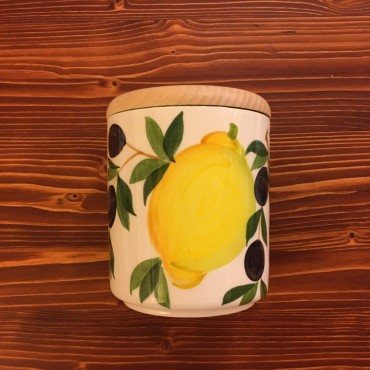 Barattolo Limone e Olive