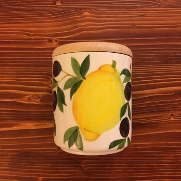Jar Lemon and Olive