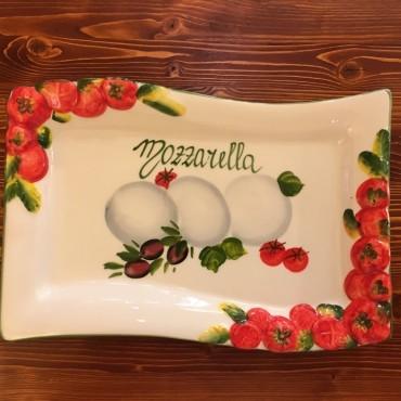 Onda Mozzarella Plate