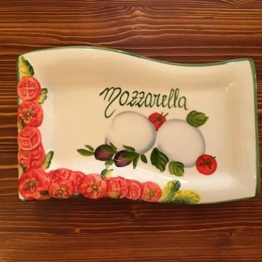 Onda Mozzarella Plate P.