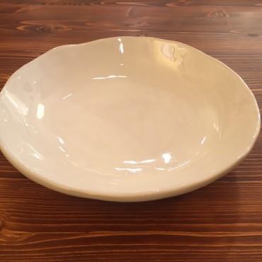 Soup plate Gress White