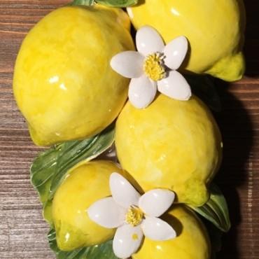 Tralcio 6 Limoni e fiori