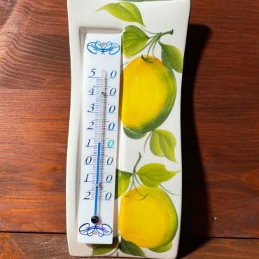 Wandthermometer - Zitronen