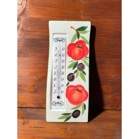 Wall thermometer - Tomatoes and Olives