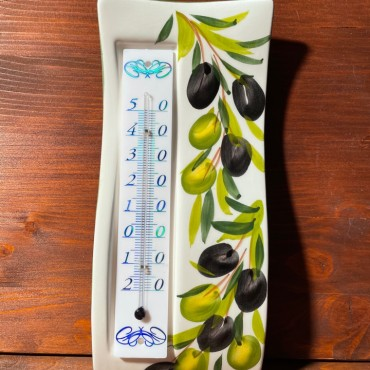 Wall thermometer - Olives