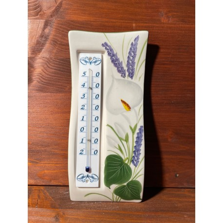 Wall thermometer - Calla and Lavender