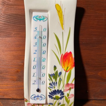 Termometro Muro - Fiori di campo