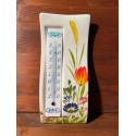 Wall thermometer - Wildflowers
