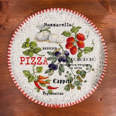 Gebackene Pizzaschale