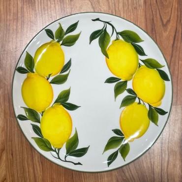 Piatto Tondo Ø 28 CM Limone