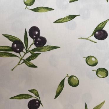 Baumwolle Tischdecke Oliven