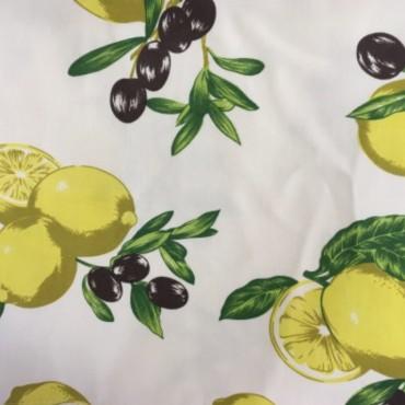 Tovaglia olive 270 x 120 Judith