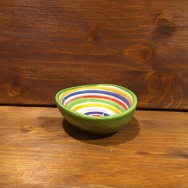 Small Bowl Giada Line Red-Yellow-Blue-Grün