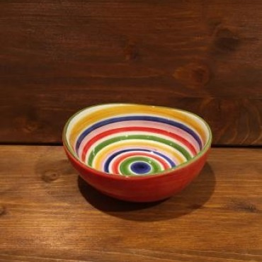 Small Bowl Giada Riga Red-Yellow-blue-Green