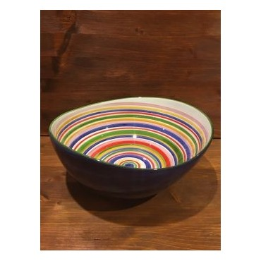 Bowl Giada Line Red-Yellow-Blue-Green