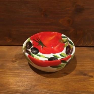 Kleine Schüssel Giada Tomaten und Oliven