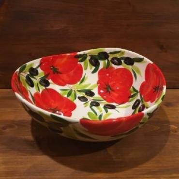 Schüssel Giada Tomaten und Oliven