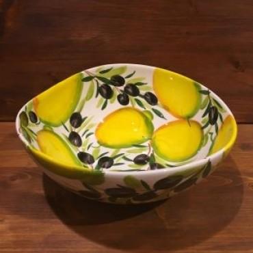 Schüssel Giada Zitrone und Oliven