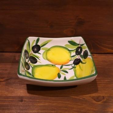 Schüssel Nevi Zitrone und Oliven