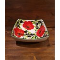 Nev bowl with tomato and olive decoration