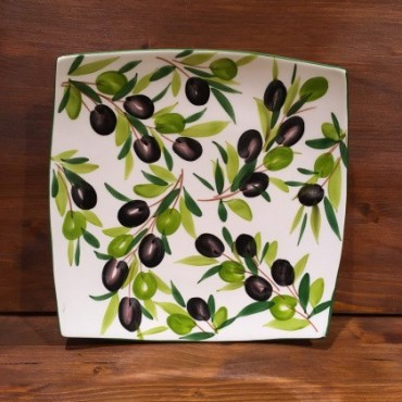 Nev plate with Olive decoration