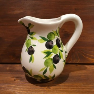 Pitcher with Olive decoration,
