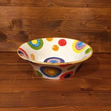 Flared Bowl Rustic Rims
