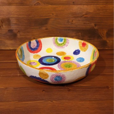 Bowl Circular Colored Circles