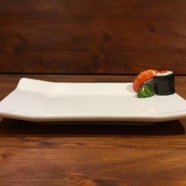 Dish Rectangle Sushi