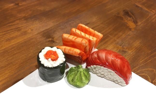 rechteckige teller sushi garda ceramiche. Black Bedroom Furniture Sets. Home Design Ideas