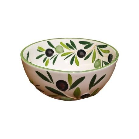 Schüsseln Oliven